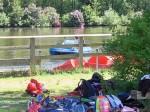die Tretboote laden zu einer Fahrt auf den See ein