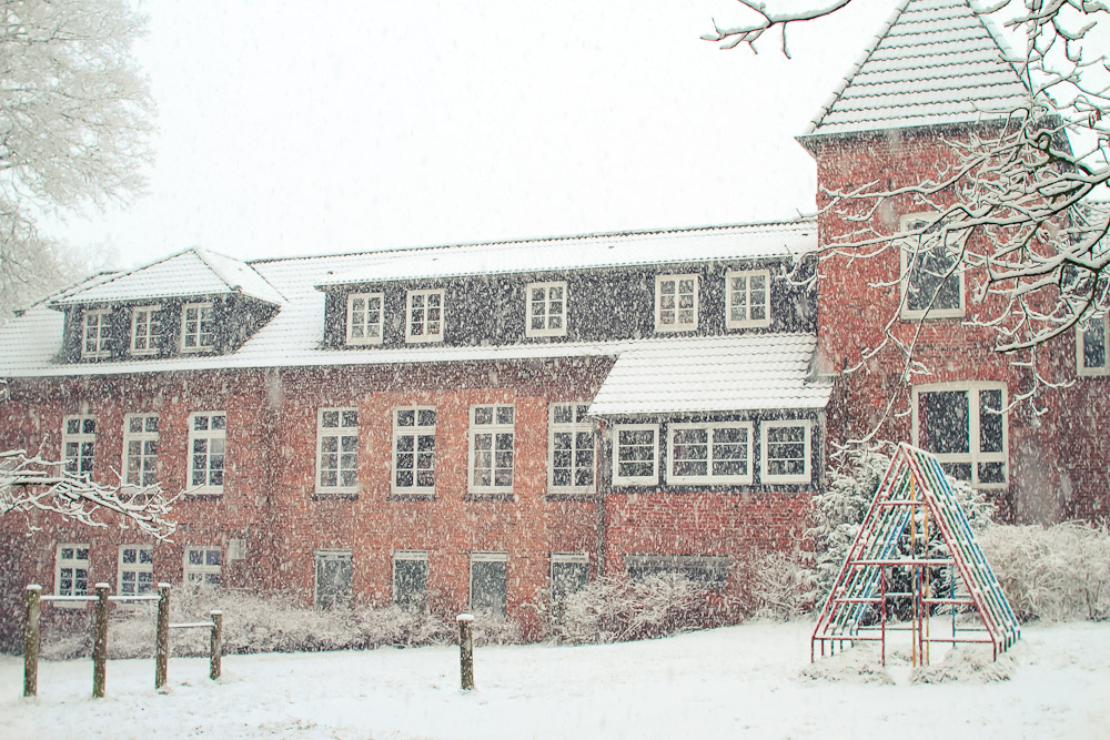 Schullandheim im Winter
