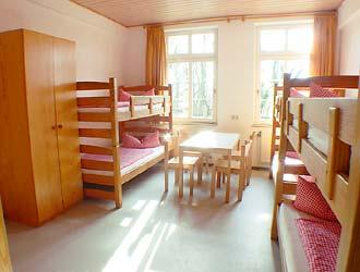 Blick in Zimmer-Nr.11 (6-Bett-Zimmer)